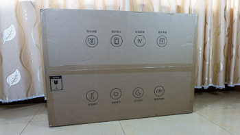 Yeelight 灵犀 吸顶灯Pro开箱晒物(主体|遥控器|按键|灯罩|背板)