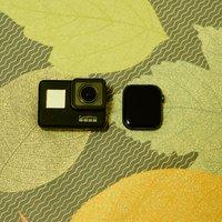 GoPro HERO7 Black黑色 运动相机摄像机外观展示(显示屏|充电口|电源线|电池盖)