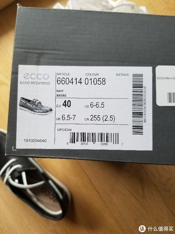 ECCO DIP莫卡辛软帮鞋660414晒单