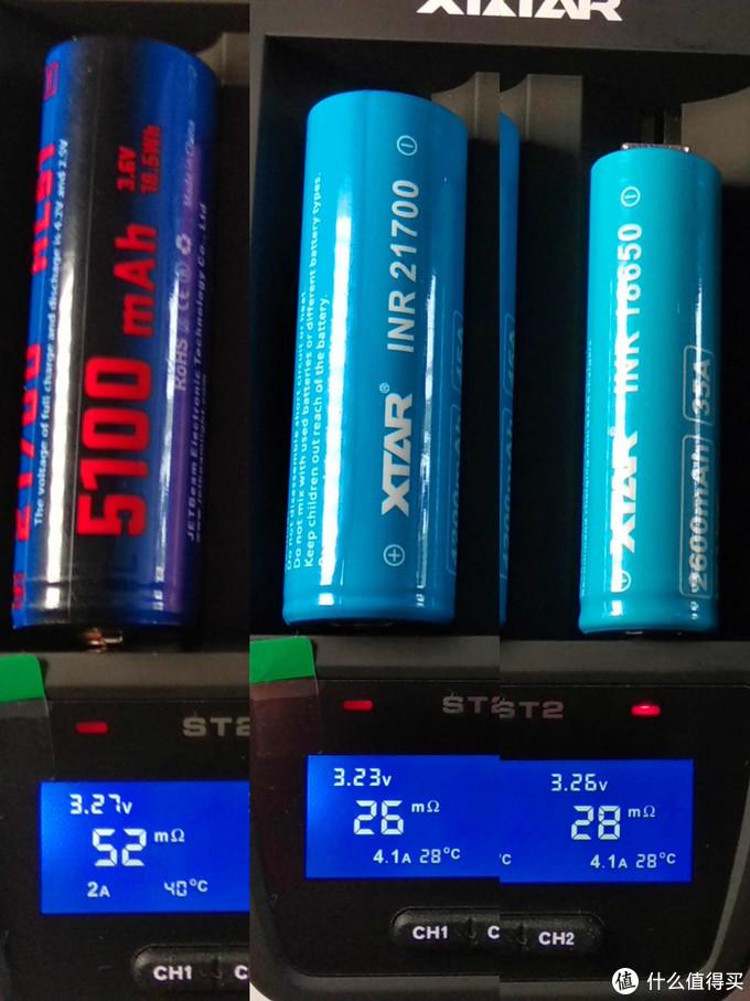 急速快充爱克斯达ST2锂电池充电器体验测试