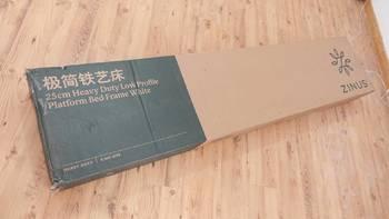 际诺思铁艺床、乳胶弹簧床垫使用体验(床架|安装)