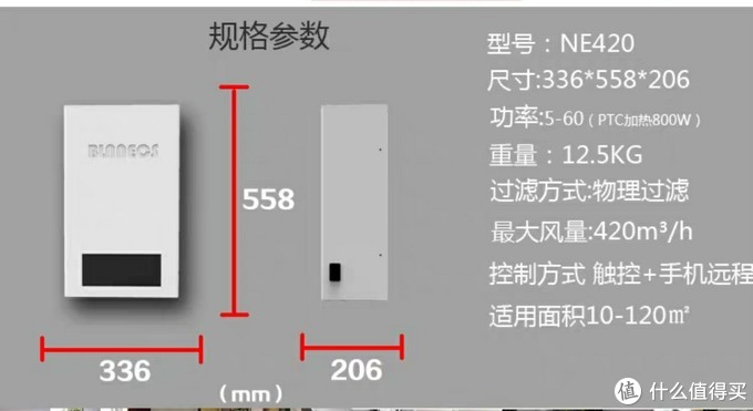 便宜又实用的blnnecs壁挂式新风机初步体验