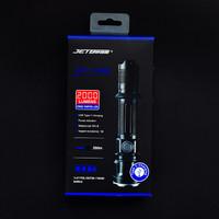 杰特明 JET-IIIMR 战术手电开箱晒物(开关|充电线|尾盖|接口|指示灯)
