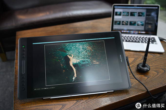 我的直观压感时代——人像摄影师上手绘王 Kamvas Pro16(附人像修图过程)
