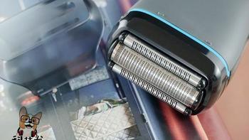 须眉灵动3系剃须刀开箱晒物(机身|刀头|网孔|接口|按键)