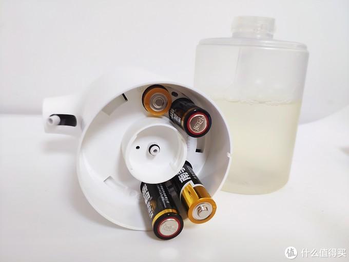 ▲5号电池在洗手机上的使用