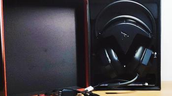 钛度暗鸦之眼游戏耳机外观展示(外壳|头梁|耳罩)