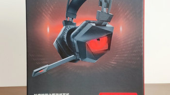 钛度 THS300 暗鸦之眼 游戏耳机外观展示(头梁|耳罩|开关)
