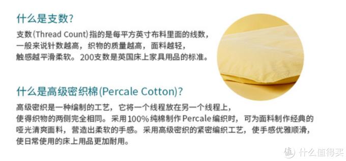 官方关于针数和高级密织棉的科普