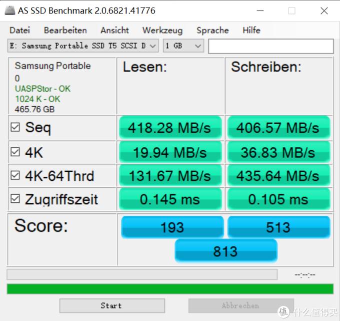 三星 T5 移动固态硬盘测评报告: