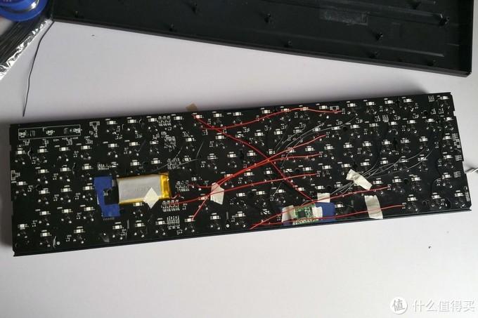 微星 vigor gk50 改蓝牙机械键盘 记录