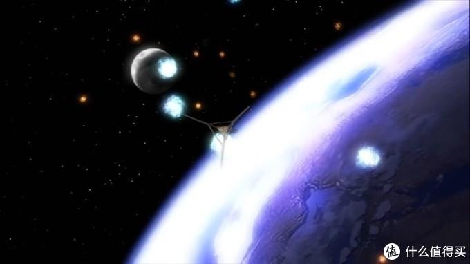 先知的飞船接近地球