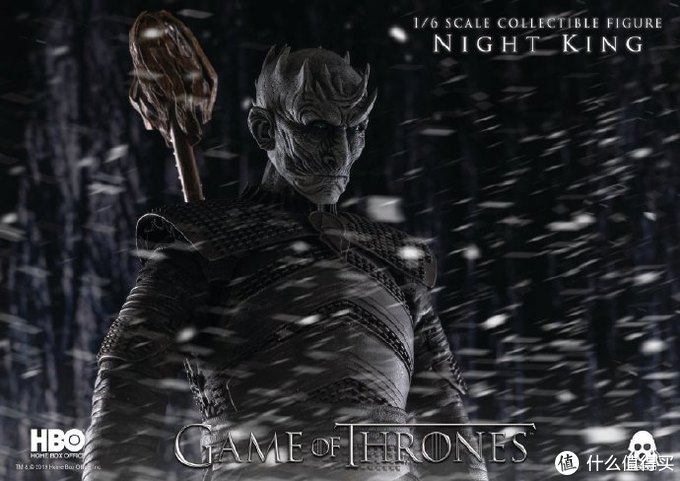 玩模总动员:threezero《权力的游戏》夜王开订!