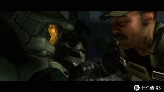 约翰逊检查士官长状态,并解除装甲锁定