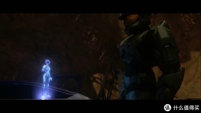 洪魔飞船上闪烁不稳定的Cortana