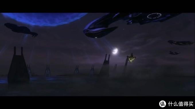 士官长搭乘的飞船返回精英母舰