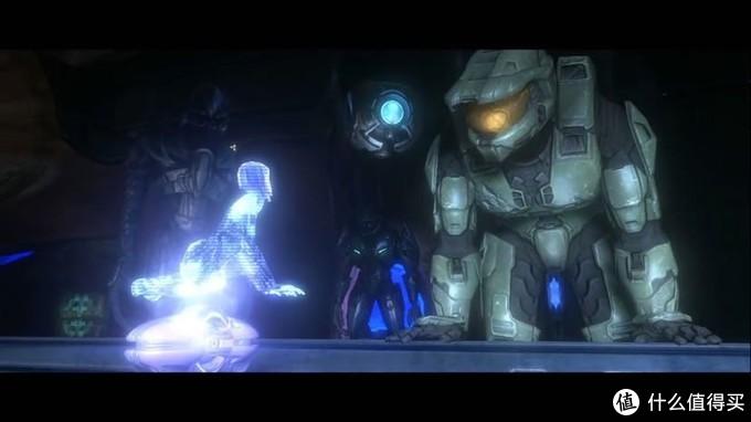 343引导者最终修好了Cortana,Cortana也给人类和精英带来了有用的信息