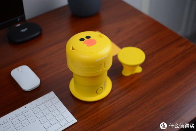只有手掌大的烧水壶:九阳|LINE FRIENDS合作出品,出差必备利器