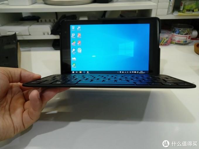 2019年的Dell Venue 8 Pro升级Win10及配原装键盘