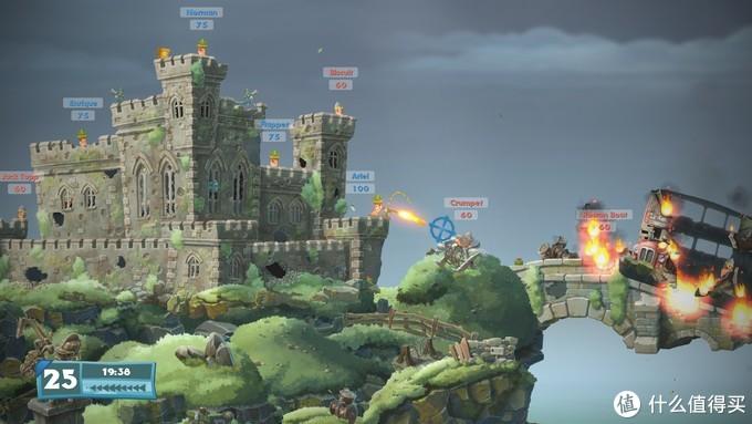 再回童年,可多人欢乐对战:Steam游戏商城《Worms W.M.D(百战天虫:战争武器)》本周末免费玩免费玩