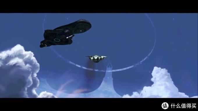 一行人驾驶鹈鹕号返回星盟母舰