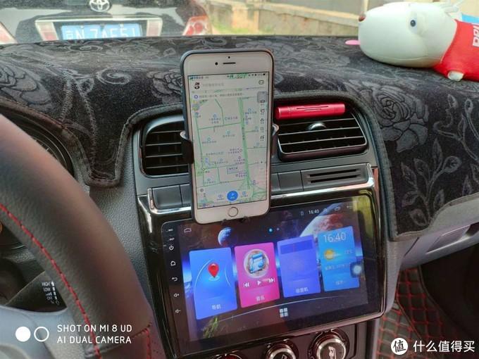 重力感应 一放夹紧 卡斐乐车载手机支架评测