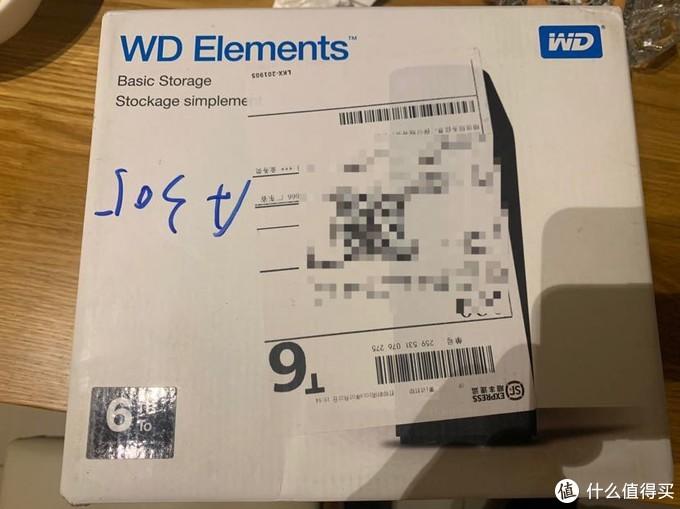 WD element 10T美亚海淘晒单