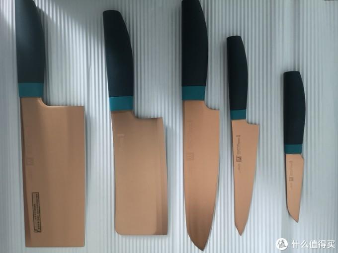 90后大叔的厨房生活 第一篇 我决定换刀具啦 双立人的炫彩款!