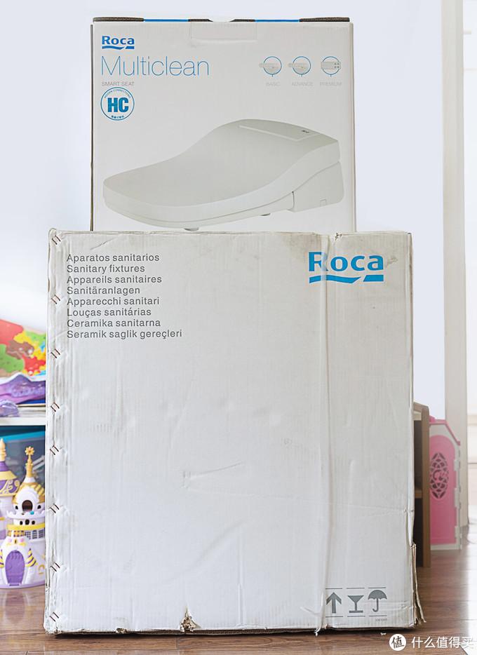 Roca Multiclean+GAP 欧乐净+盖普一体座厕,使用体验及介绍