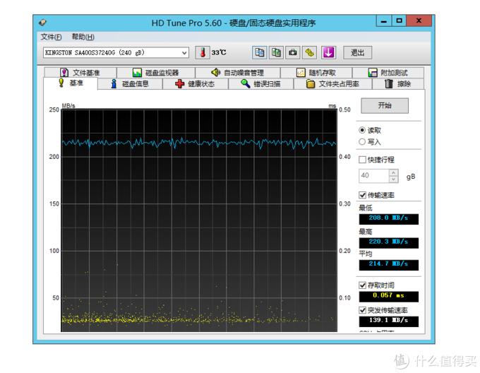 """这""""大号U盘""""不太给力啊:金士顿 (Kingston) A400 240GB SSD固态硬盘"""