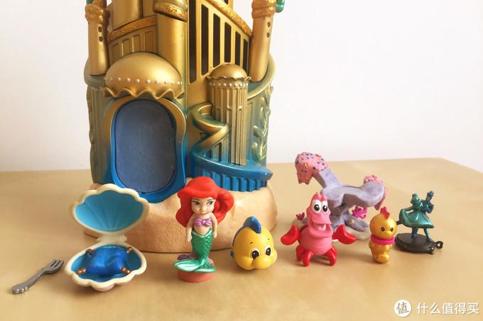 玩具测评丨Disney迪士尼小美人鱼公主小屋