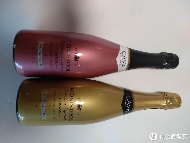 代替传统香槟的甜葡萄酒(何以解忧,唯有美酒)西班牙进口的cava起泡酒