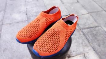 小米有品GTS透气网面休闲鞋外观展示(鞋面|鞋头|鞋底)