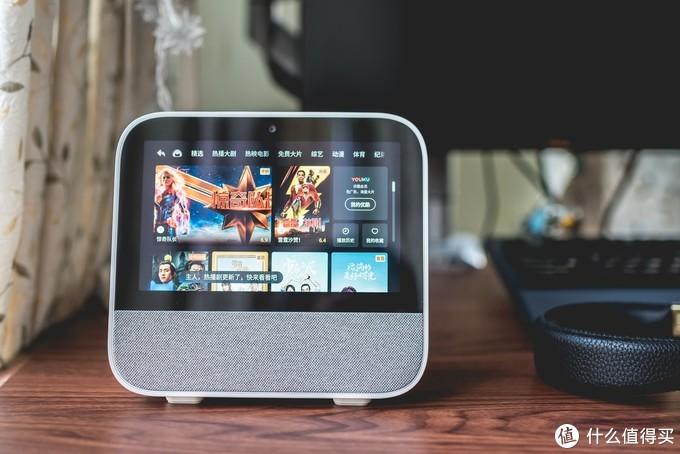 购物看片视频无所不及, 天猫精灵CC 带屏智能音箱 上手