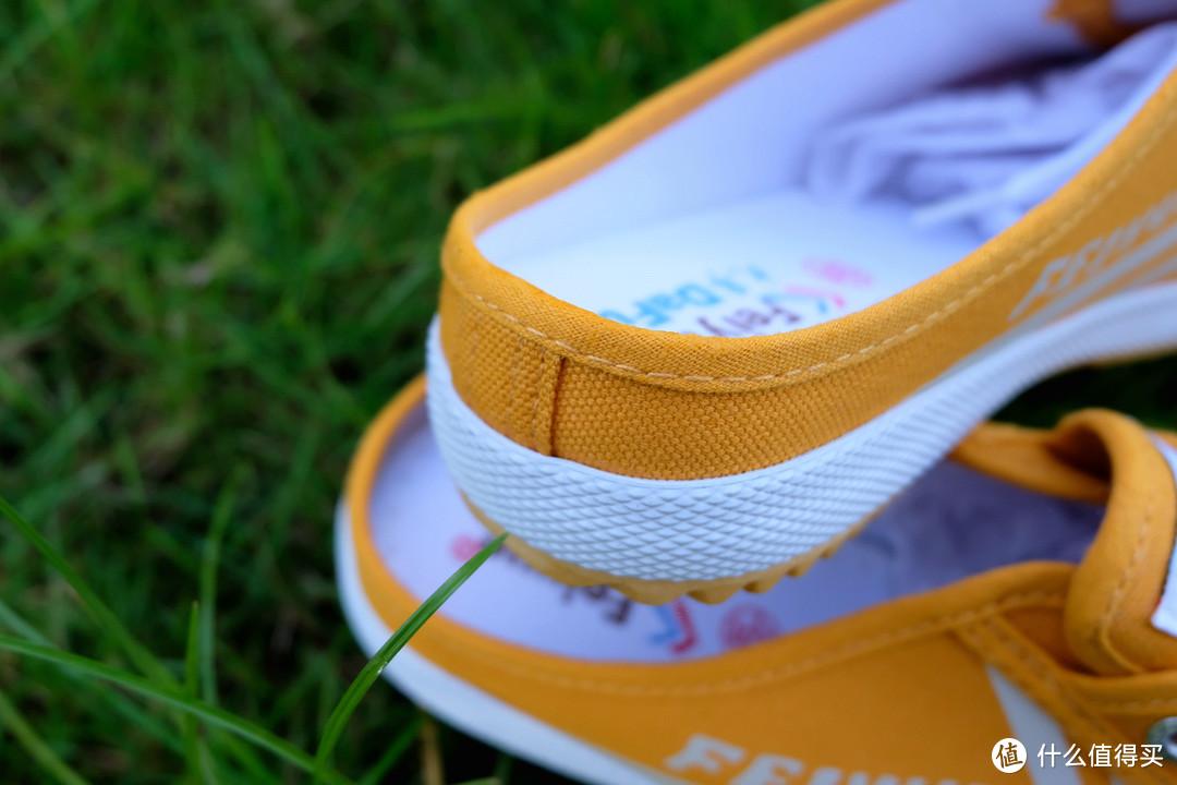 跟着大妈买,feiyue 飞跃半拖帆布鞋 开箱体验