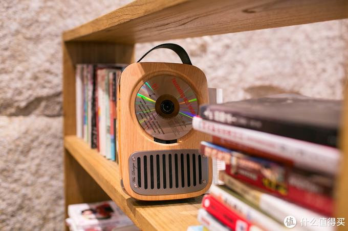 时光的礼物,可携带的复古蓝牙CD唱机,巫·单曲人生