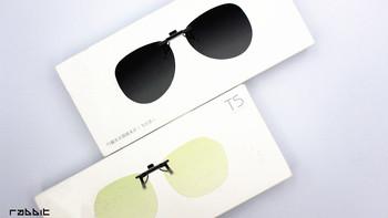 TS防蓝光/偏光太阳镜夹片外观展示(夹片|防滑|佩戴|网膜)