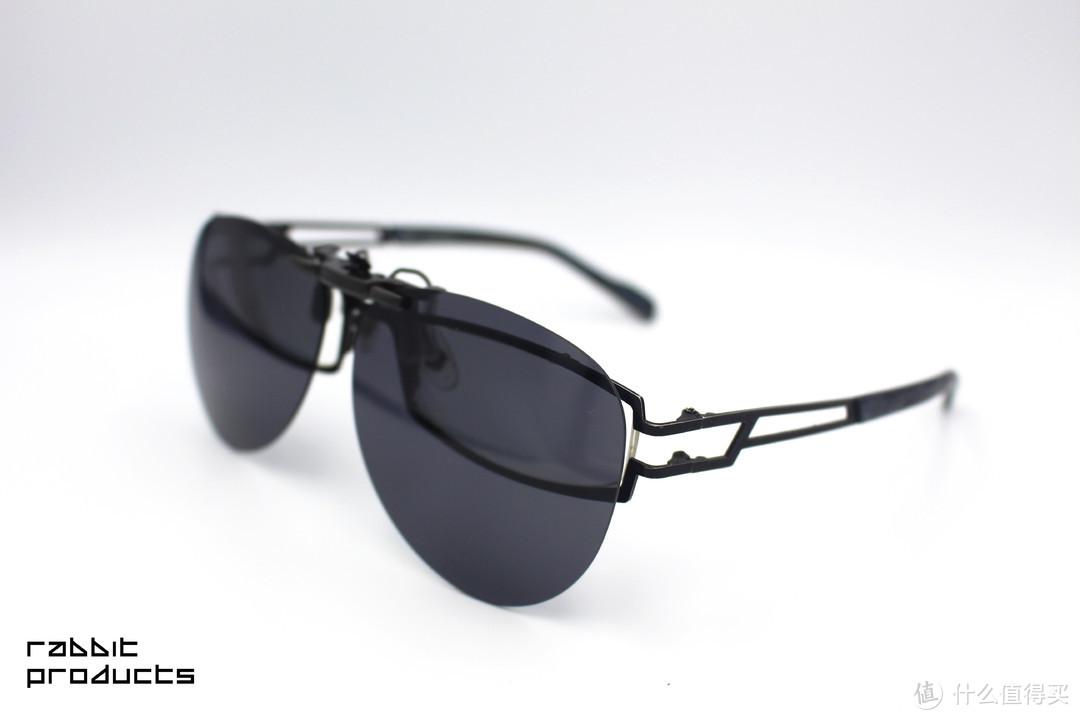 TS防蓝光/偏光太阳镜夹片   轻巧便捷、免更换眼镜