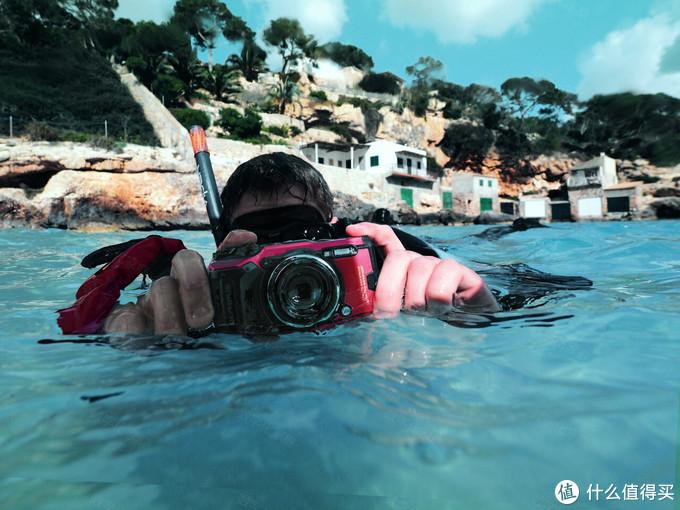 不能潜水的显微镜不是好的轨迹记录器 奥林巴斯Tough TG-6最速体验