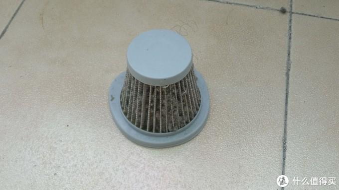 德尔玛(Deerma)DX128C小型手持吸尘器 晒单