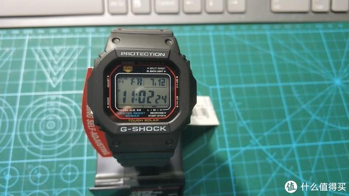卡西欧G-Shock GW-M5610-1 使用说明