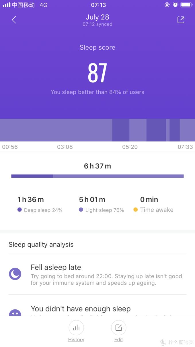 睡眠监测,还有国内软件热爱的超过了xx%...233333