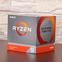 AMD Ryzen 9 3900X 处理器外观展示(接口|风扇|主板|鳍片)