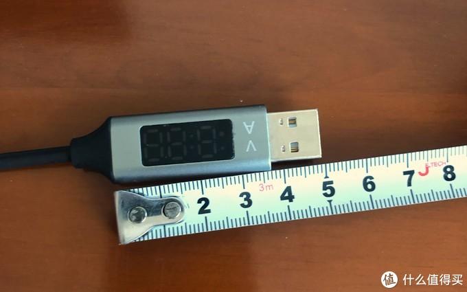 充电数据线评测 篇三:满足你的好奇心—自带电压电流显示的充电数据线
