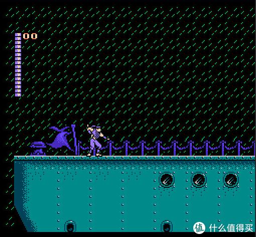 赤影战士当时被称作水上魂斗罗,掌握好技巧非常容易通关,算是我可以一命通关的始祖游戏。