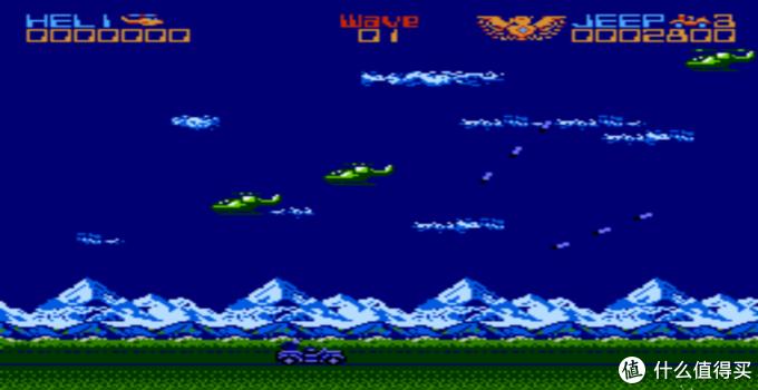 联合大作战,之前一直开飞机,之后才知道吉普才是最好打的,有很多的无敌站位,boss根本就不到。
