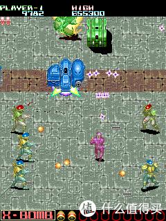 fixeight国内当时翻译成地狱门,也是我和小伙伴非常喜欢的游戏。一个选忍者,一个选机器人也能玩很久。