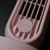 小熊桌面风扇开箱展示(按键|垫脚|电源口|扇叶)