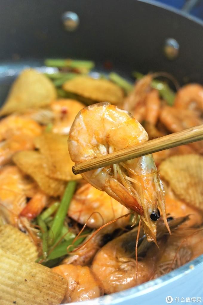 暖男的深夜食堂----黑暗料理,薯片干锅虾