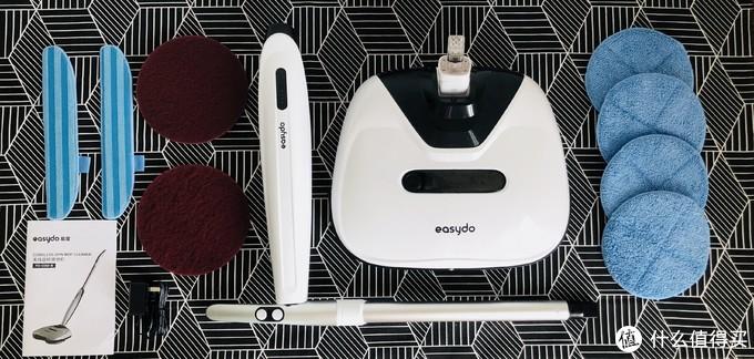 Easydo无线扫拖一体电动拖把,清扫,一次到位。拒绝重复劳作!